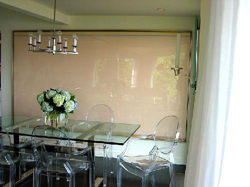 Lucite Dining Table Contemporary Dining Room M Design Interiors
