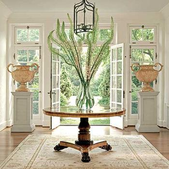 entrances/foyers - foyer, foyer ideas, large foyer, large foyer ideas, entry, large entry, large entry ideas, foyer table, entry table, foyer lanterns,