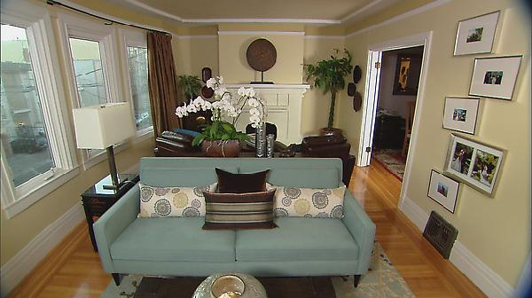 Long Living Room Ideas - Transitional - living room - HGTV
