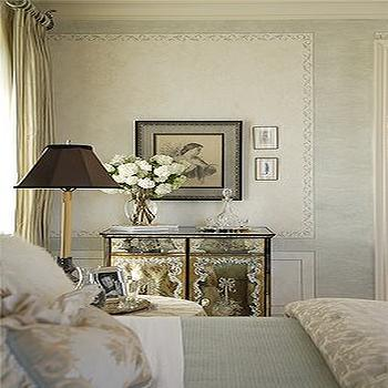 Antique Mirrored Furniture, Traditional, bedroom
