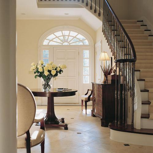 Entrance foyer for Foyer staircase decorating ideas