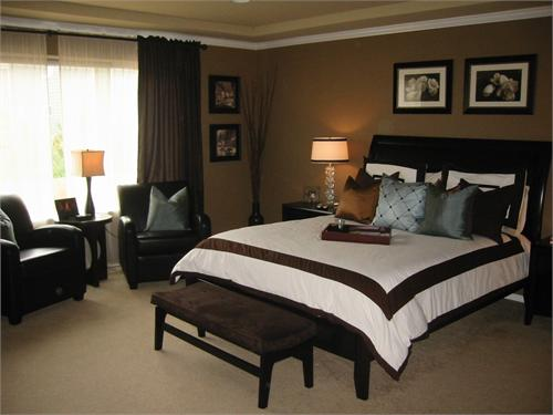 Master Bedrooms Paint Idea Brown