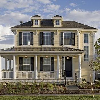Martha Stewart House Plans, Transitional, home exterior, Martha Stewart