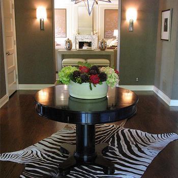 Round Foyer Table, Contemporary, entrance/foyer, Burnham Design