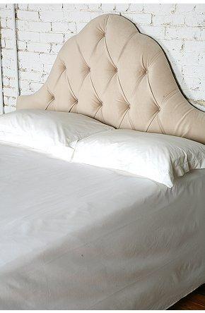 Beds/Headboards - UrbanOutfitters.com > Velvet Tufted Headboard - Wheat - headboard, tufted