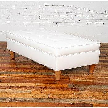 Evelyn Tufted Bar Bench Neiman Marcus