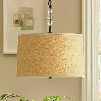 Lighting - Pottery Barn | Raffia Pendant - pendant, lighting