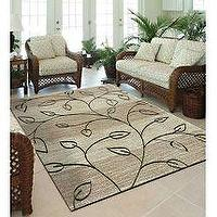 Rugs - Walmart.com: Orian Stonebrook Indoor/ Outdoor Area Rug, Driftwood: Decor - Outdoor rug.