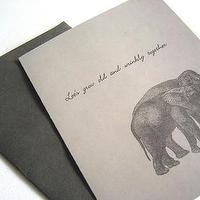 Miscellaneous - Etsy :: SugarStreetCafe :: Lets grow old and wrinkly together - card
