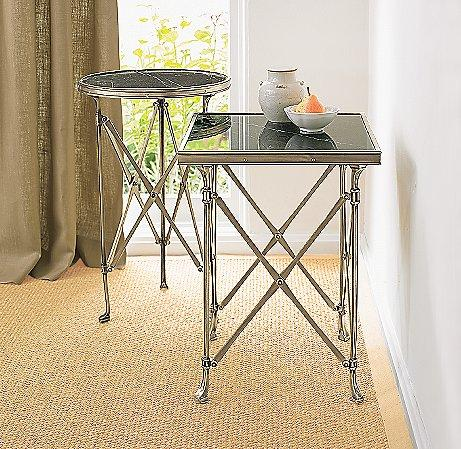 Campaign Side Tables Coffee Amp Side Tables Living Room