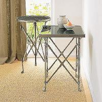Tables - Campaign Side Tables - Coffee & Side Tables - Living Room - Furniture - table, side table, end table, accent table