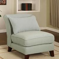 Seating - Slipper Sky Chair from Overstock.com - slipper chair, chair
