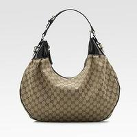Miscellaneous - Gucci - Medium Full Moon Hobo Bag - Saks.com - gucci, hobo bag