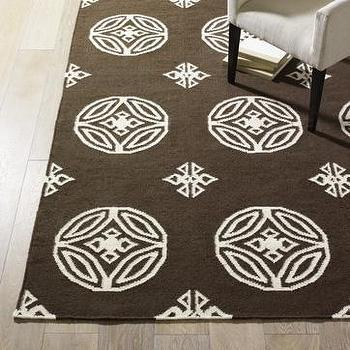 batik rug, west elm