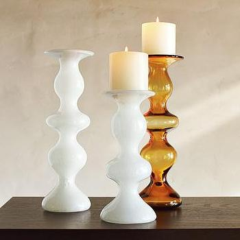 Decor/Accessories - artisanal candleholders | west elm - candle holders