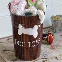 Miscellaneous - Dog Toys Bucket  $58-Room Service Home - Dog Toys Bucket