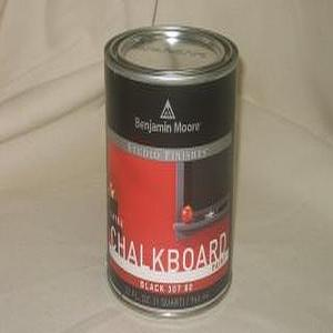 Miscellaneous - Tommy's Paint Pot - featuring Benjamin Moore paints - Black Chalk board paint