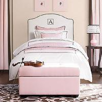 Beds/Headboards - emerson slipcovered headboard - headboard