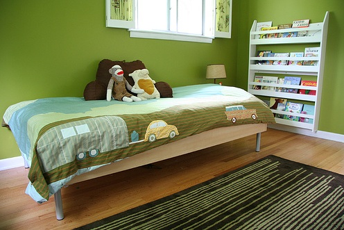 Green Paint Colors Contemporary Boy 39 S Room Benjamin: colors for toddler boy room