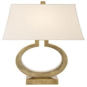 Lighting - LARGE RING TABLE LAMP - lamp
