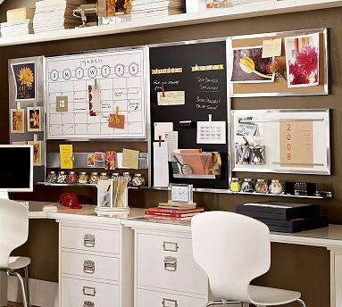 Pottery Barn, Stainless Steel Home Office