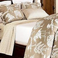 Bedding - Pottery Barn | Bonsai Tree Organic Bedding Ensemble - sheets, bedding