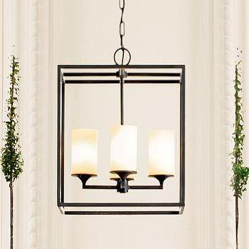 Lighting - Pottery Barn | Monroe Pillar Chandelier - chandelier