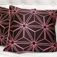 Pillows - Pink and Brown Love - pink and brown pillows