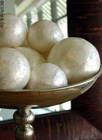 Miscellaneous - Shell Decorative Ball by CSPost.com - Shell Balls