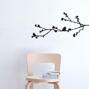 Art/Wall Decor - Etsy :: Elephannie :: Sophia- birds on branch decal - wall decal