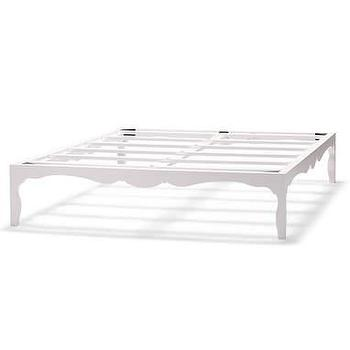 Beds/Headboards - Silhouette Bedframe in White - Silhouette Bedframe in White