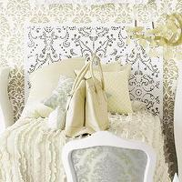 Beds/Headboards - furniture: lace pattern headboard at brocadehome.com - headboard