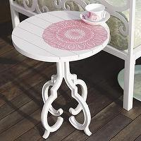 Tables - outdoor: medallion side table at brocadehome.com - side table