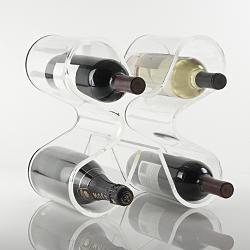 Decor/Accessories - RedEnvelope - loopsey wine rack SALE! - Wine Rack, Ghost, Red Envelope, Bargain