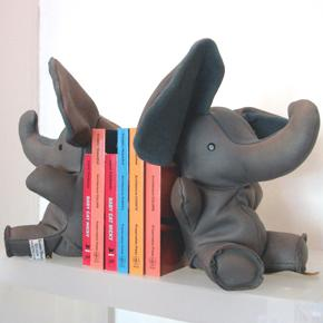Decor/Accessories - elephant bookends - bookends