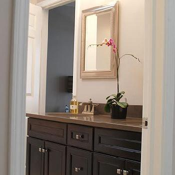 Espresso bathroom vanity design decor photos pictures ideas inspiration paint colors and - Painting bathroom cabinets brown ...