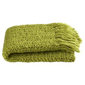 Bedding - tessuto throw shopping in CB2 pillows, throws - green blanket