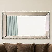 Mirrors - Restoration Hardware-Venetian Beaded Mirrors - beveled mirror