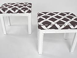 Seating - Hollywood Regency Stools Eames Era Modern Art Deco - eBay (item 130247797835 end time Aug-24-08 19:05:30 PDT) - stools
