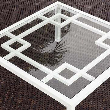 Overlapping Squares Coffee Table West Elm