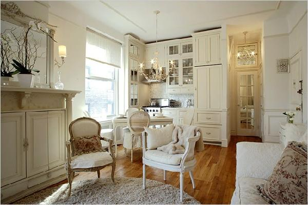 Small kitchen ideas french kitchen - Big style small spaces photos ...