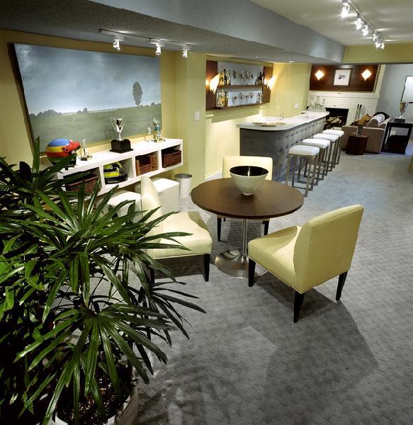 Designer Basements: Divine Design Basement Family Room