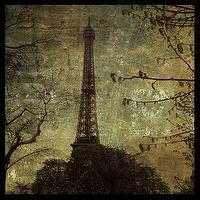 Art/Wall Decor - Etsy :: johnwgolden :: Eiffel Tower 12 in x 12 in Print - art