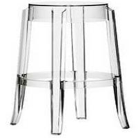 Seating - Kartell Charles Ghost Stool! (Ebay) - Ghost, Acrylic, Barstools, Ebay