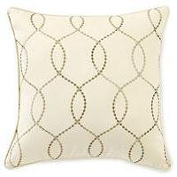 Pillows - Walmart.com: Canopy Embroidered Wave Pillow, Stone Beige : Bedding - pillow