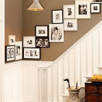 Benjamin Moore - entrances/foyers - Benjamin Moore - Texas Leather - photo, gallery,  picture gallery