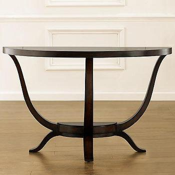 Tables - Preston Demi-Lune Console Table - demilune, console, table