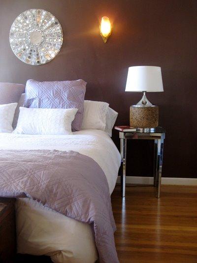Chocolate Brown Bedroom Contemporary Bedroom