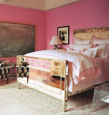 Paint Guru: Thanks to DM!  Love the mirrored bed!