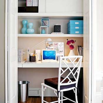 Closet Desk, Contemporary, den/library/office